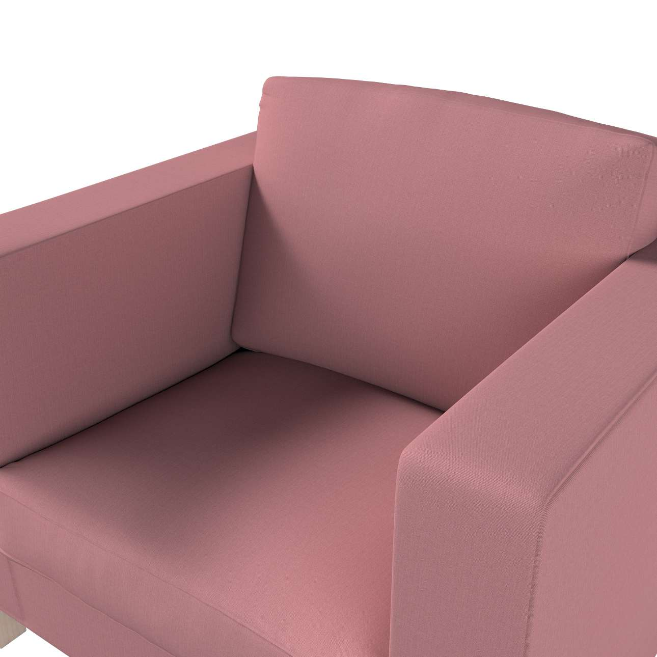 Karlanda fotelhuzat rövid a kollekcióból Cotton Panama Bútorszövet, Dekoranyag: 702-43