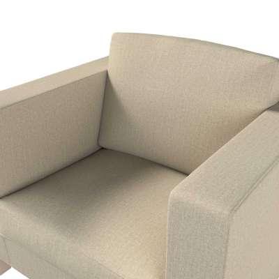 Pokrowiec na fotel Karlanda, krótki w kolekcji City, tkanina: 704-80