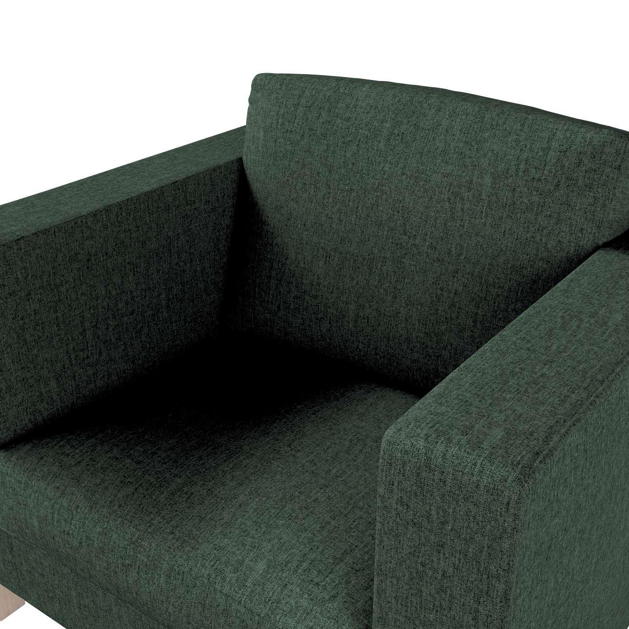 Karlanda betræk lænestol, kort fra kollektionen City, Stof: 704-81