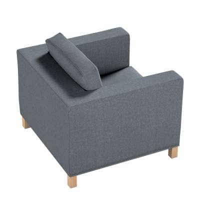 Pokrowiec na fotel Karlanda, krótki w kolekcji City, tkanina: 704-86