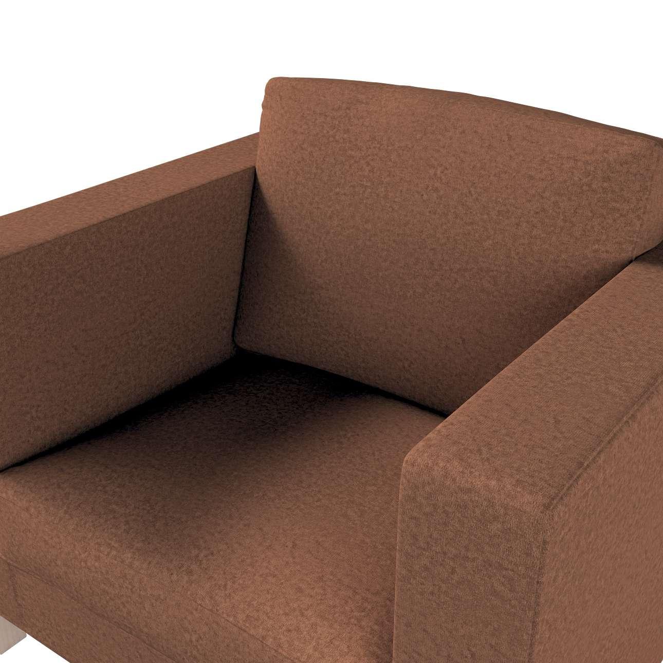 Pokrowiec na fotel Karlanda, krótki w kolekcji Living, tkanina: 161-65