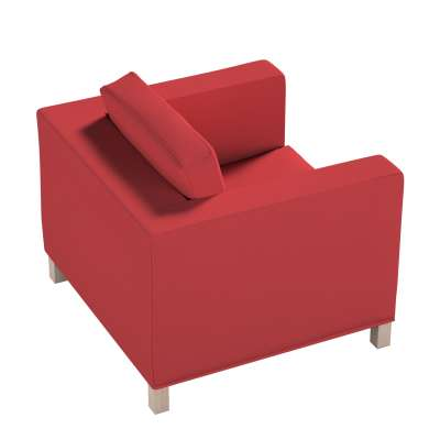 Pokrowiec na fotel Karlanda, krótki 161-56 czerwony Kolekcja Living