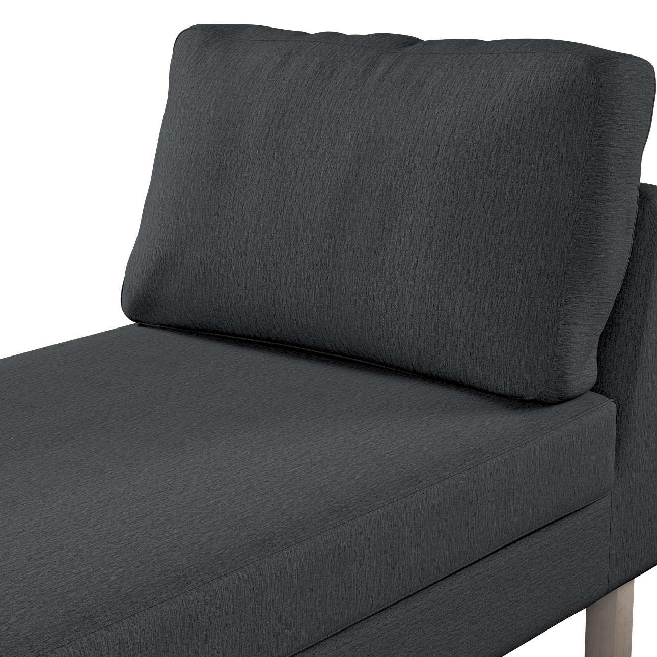 Zitbankhoes, Karlstad chaise longue van de collectie Chenille, Stof: 702-20