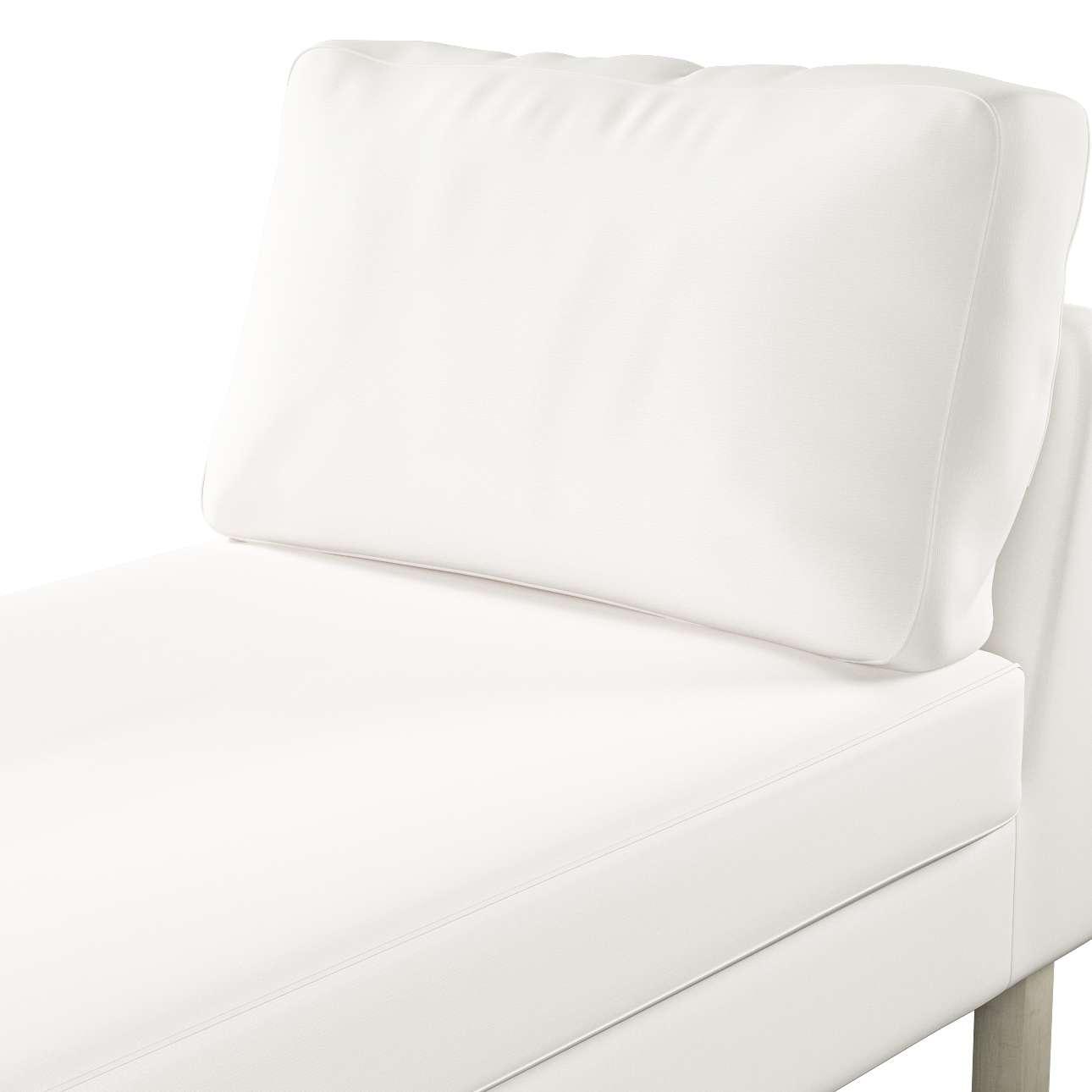 Pokrowiec na szezlong Karlstad wolnostojący, krótki w kolekcji Cotton Panama, tkanina: 702-34