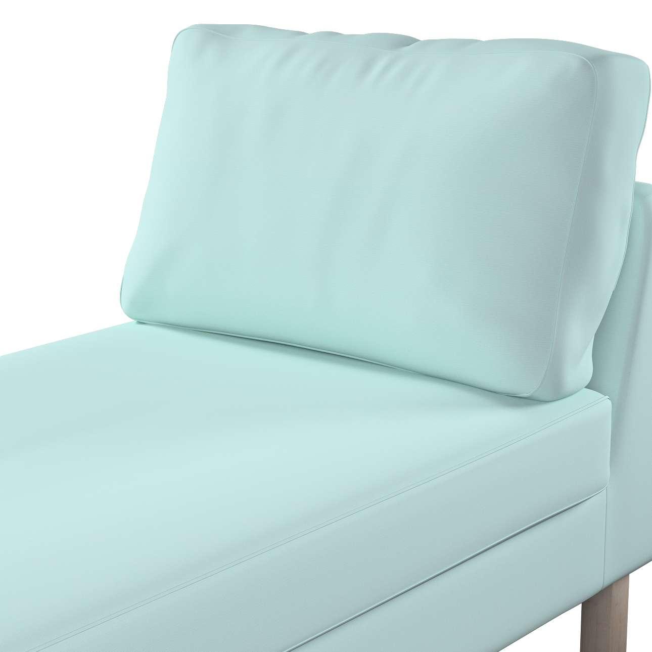 Pokrowiec na szezlong Karlstad wolnostojący, krótki w kolekcji Cotton Panama, tkanina: 702-10