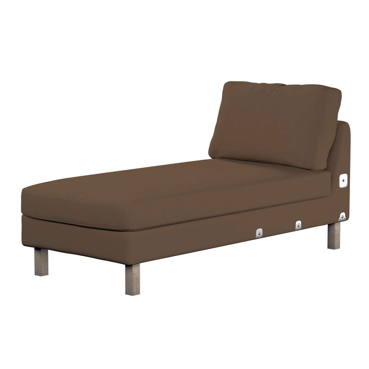 KARSLTAD sofos gulimojo krėslo užvalkalas Karlstad add-on unit cover kolekcijoje Cotton Panama, audinys: 702-02