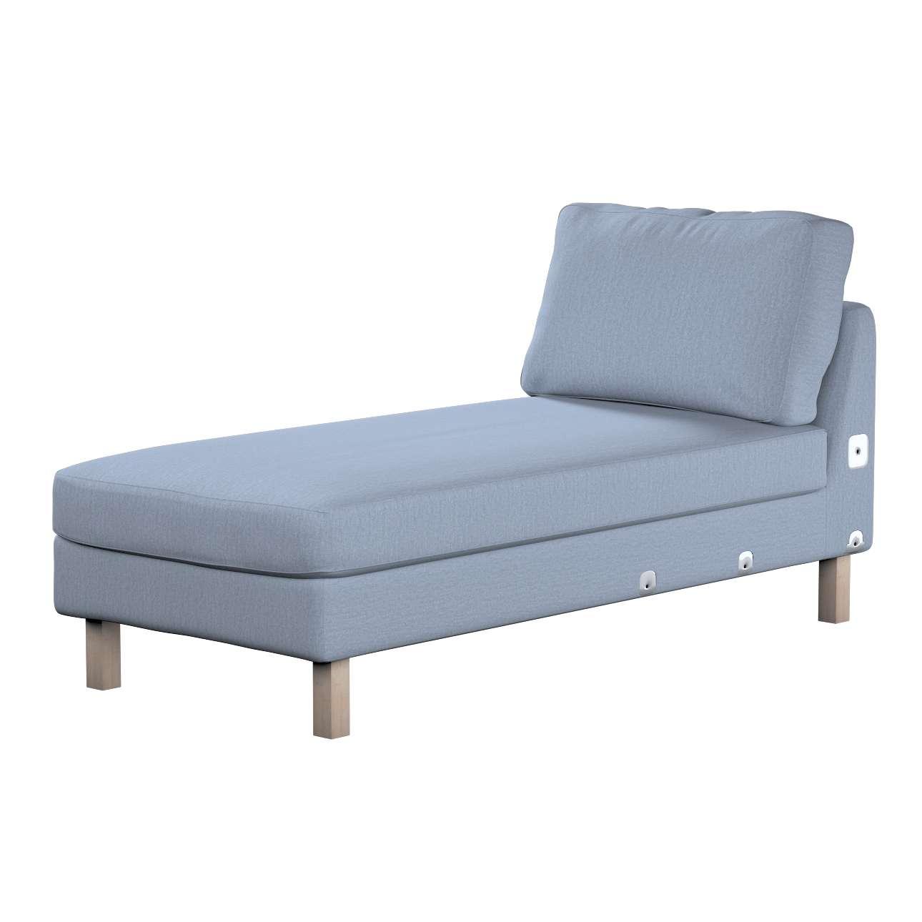KARSLTAD sofos gulimojo krėslo užvalkalas Karlstad add-on unit cover kolekcijoje Chenille, audinys: 702-13