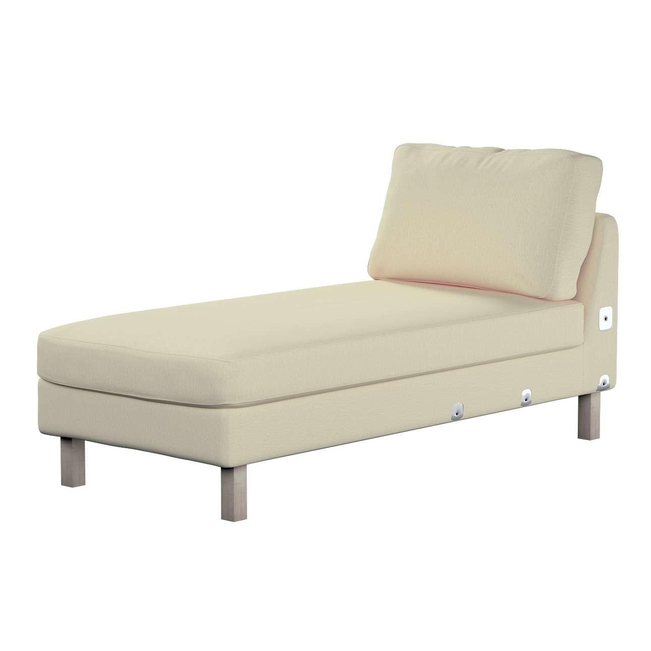 KARSLTAD sofos gulimojo krėslo užvalkalas Karlstad add-on unit cover kolekcijoje Chenille, audinys: 702-22
