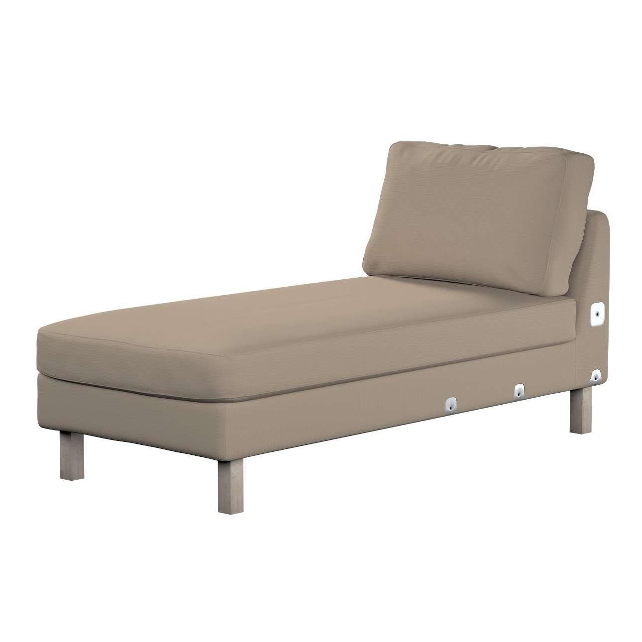 KARSLTAD sofos gulimojo krėslo užvalkalas Karlstad add-on unit cover kolekcijoje Cotton Panama, audinys: 702-28
