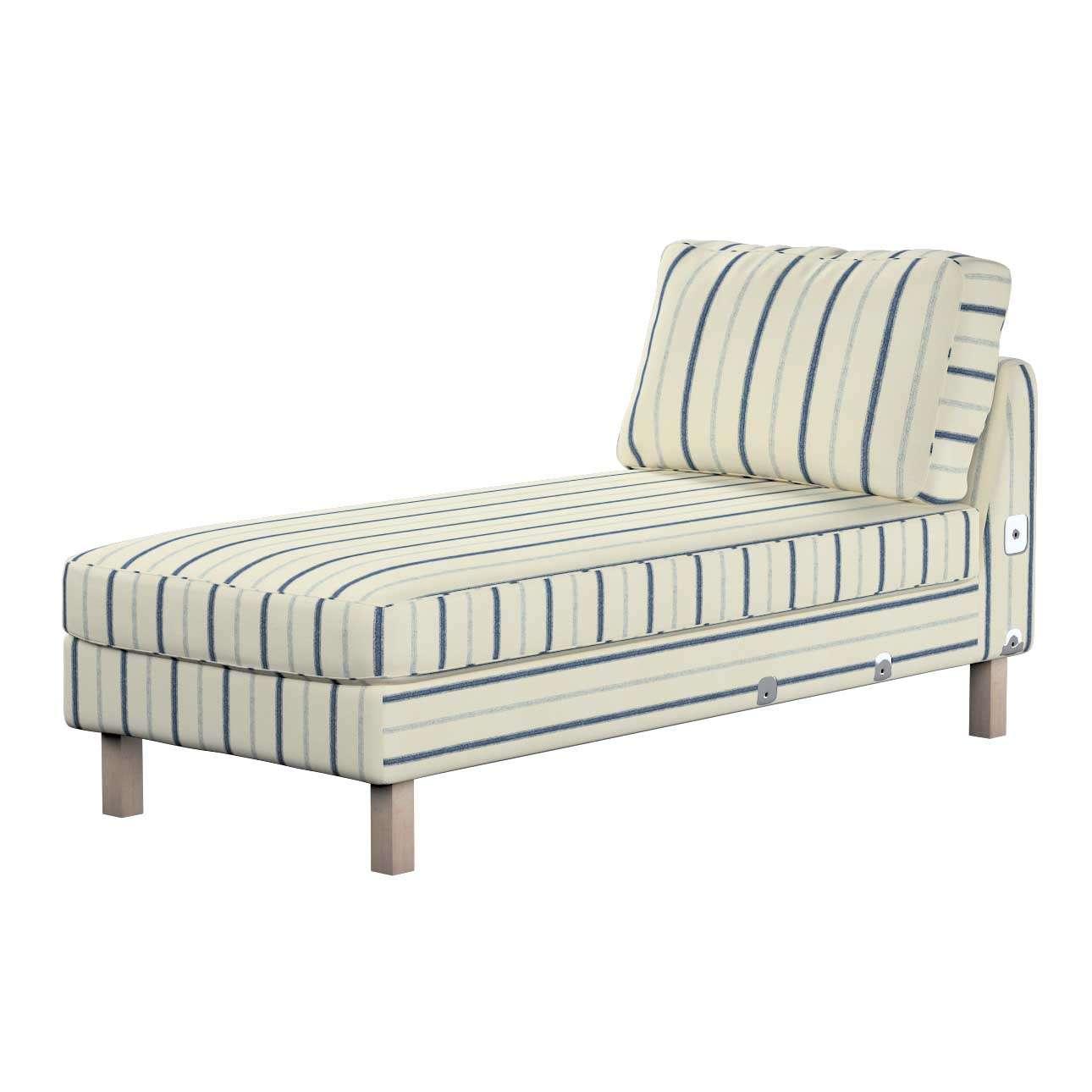 KARSLTAD sofos gulimojo krėslo užvalkalas Karlstad add-on unit cover kolekcijoje Avinon, audinys: 129-66