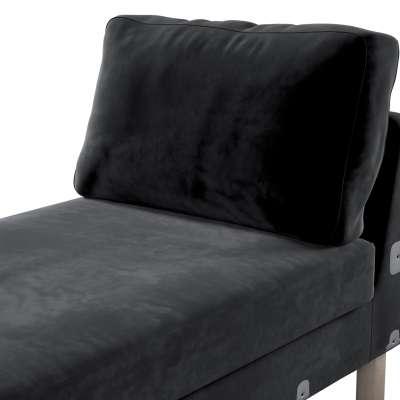 Pokrowiec na szezlong Karlstad dostawka, krótki w kolekcji Velvet, tkanina: 704-17