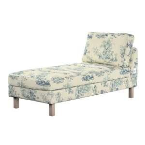 KARSLTAD sofos gulimojo krėslo užvalkalas Karlstad add-on unit cover kolekcijoje Avinon, audinys: 132-66