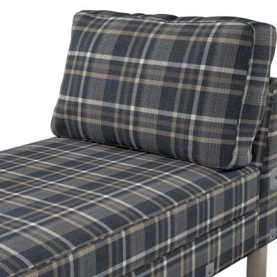 Pokrowiec na szezlong Karlstad dostawka, krótki w kolekcji Edinburgh, tkanina: 703-16
