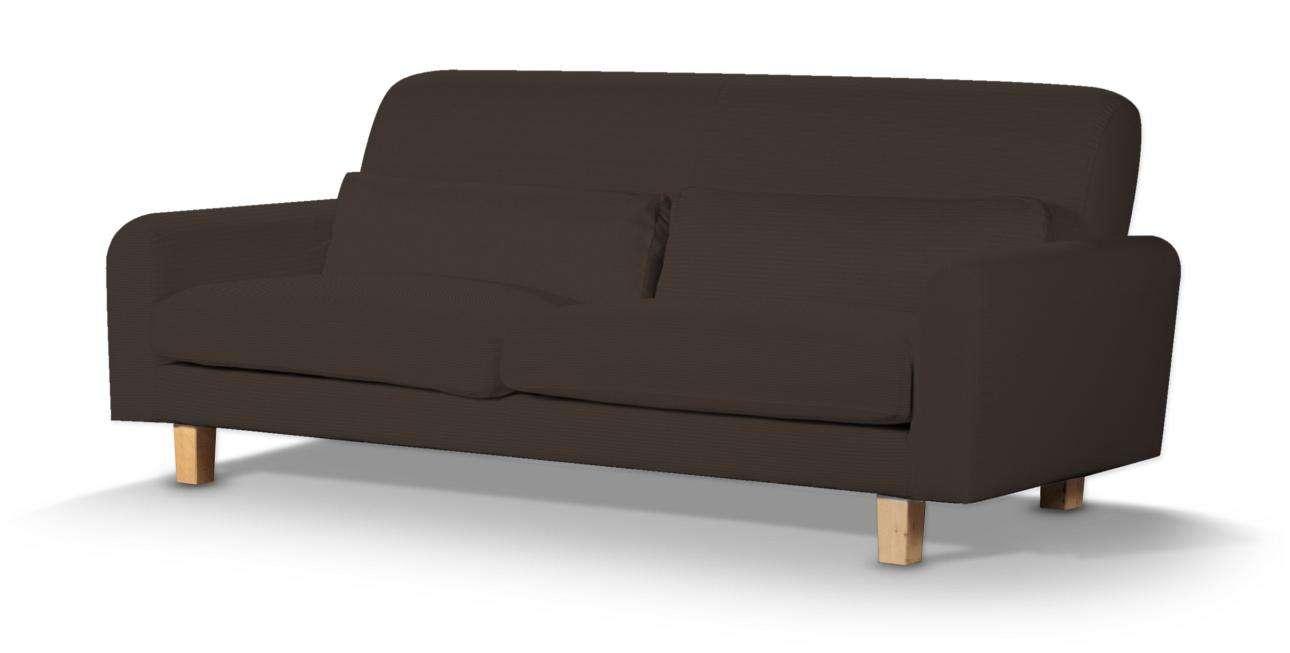 Pokrowiec na sofę Nikkala krótki w kolekcji Cotton Panama, tkanina: 702-03