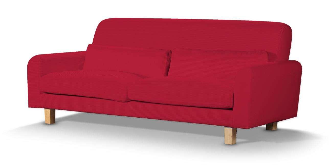 Pokrowiec na sofę Nikkala krótki sofa nikkala w kolekcji Cotton Panama, tkanina: 702-04