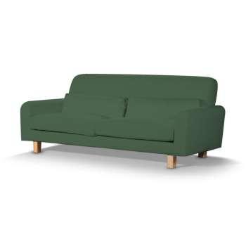 Pokrowiec na sofę Nikkala krótki w kolekcji Cotton Panama, tkanina: 702-06