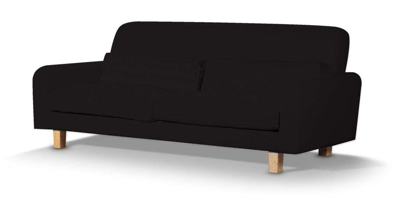 Pokrowiec na sofę Nikkala krótki w kolekcji Cotton Panama, tkanina: 702-09
