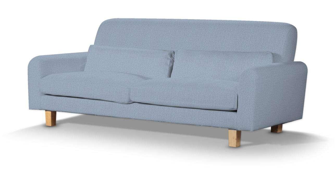 Pokrowiec na sofę Nikkala krótki w kolekcji Chenille, tkanina: 702-13