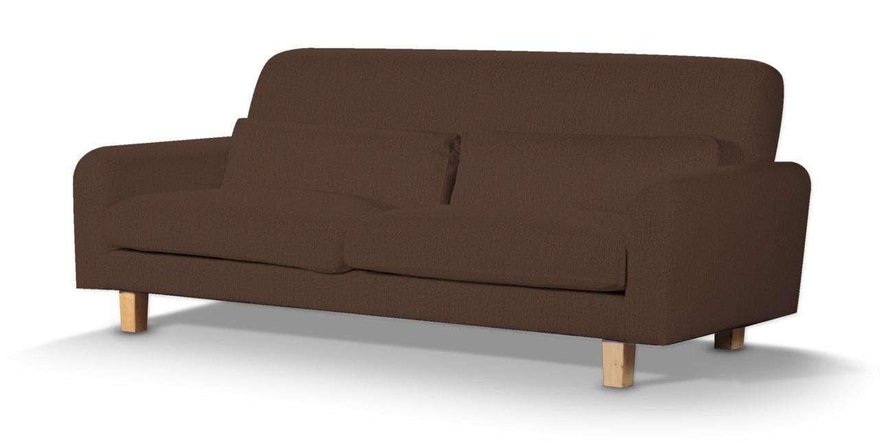 Pokrowiec na sofę Nikkala krótki w kolekcji Chenille, tkanina: 702-18