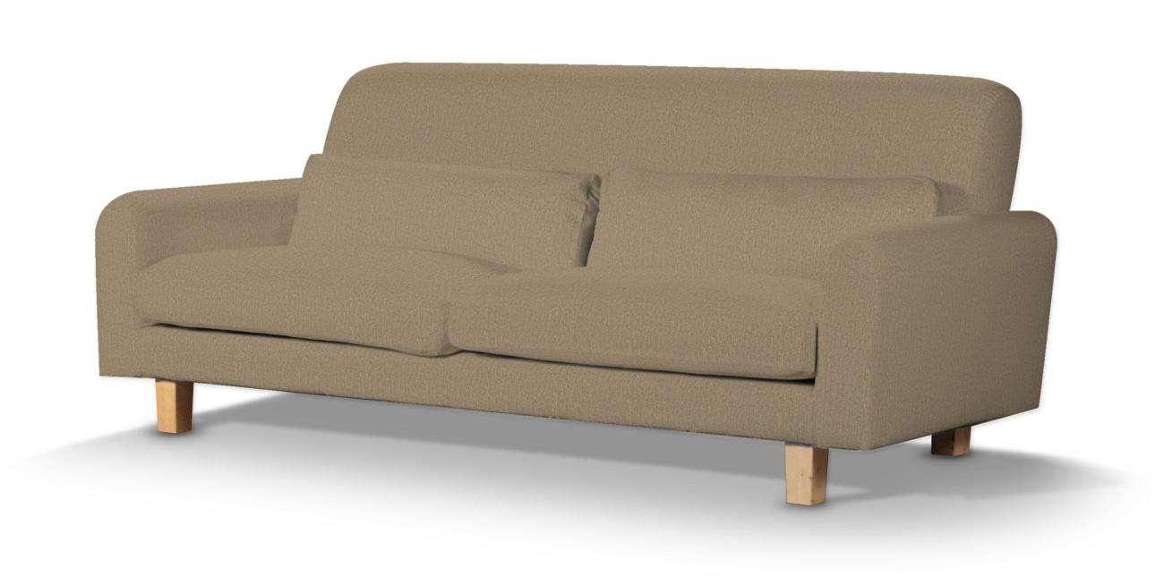 Pokrowiec na sofę Nikkala krótki w kolekcji Chenille, tkanina: 702-21