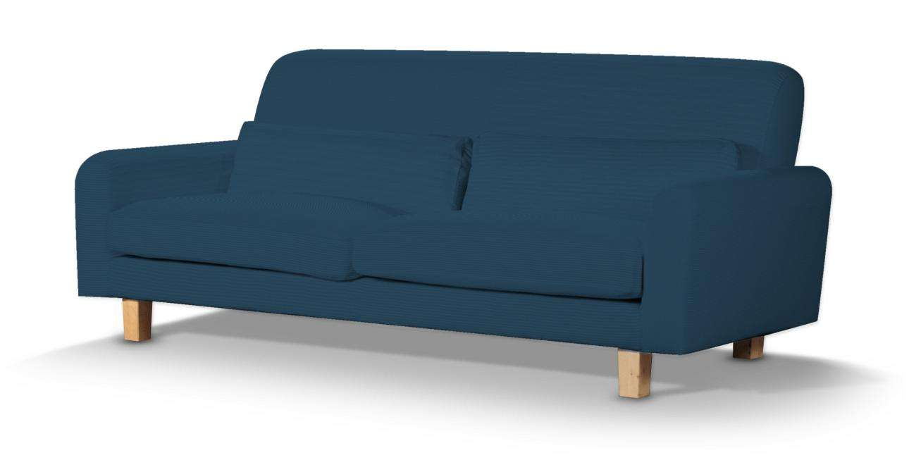 Pokrowiec na sofę Nikkala krótki sofa nikkala w kolekcji Cotton Panama, tkanina: 702-30