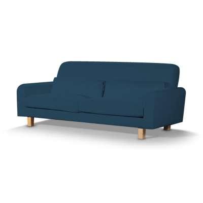 Pokrowiec na sofę Nikkala krótki w kolekcji Cotton Panama, tkanina: 702-30