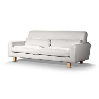 Pokrowiec na sofę Nikkala krótki w kolekcji Cotton Panama, tkanina: 702-34