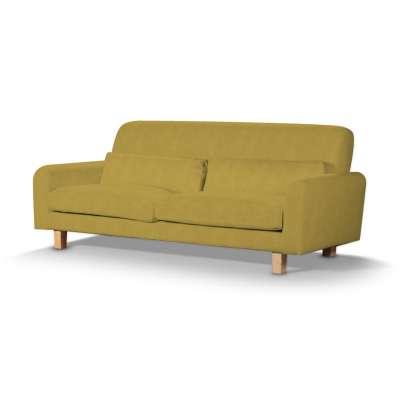 Pokrowiec na sofę Nikkala krótki w kolekcji Etna, tkanina: 705-04