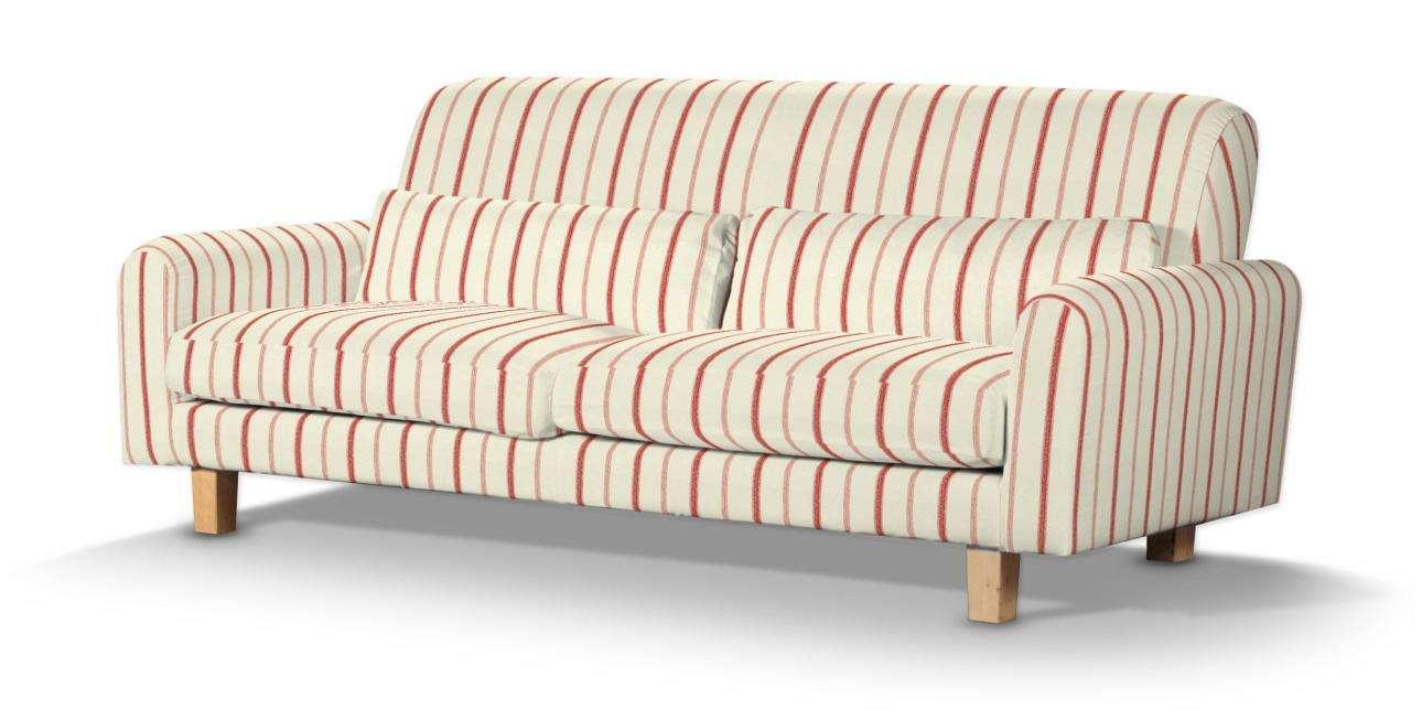 Pokrowiec na sofę Nikkala krótki w kolekcji Avinon, tkanina: 129-15