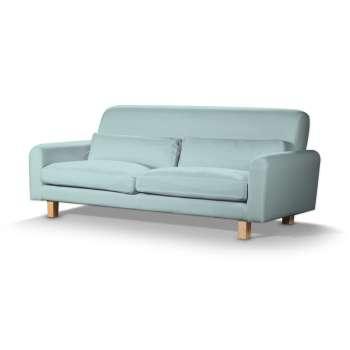 Pokrowiec na sofę Nikkala krótki w kolekcji Cotton Panama, tkanina: 702-10