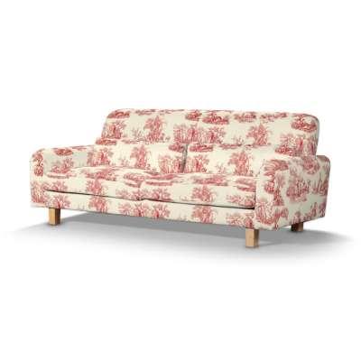 Pokrowiec na sofę Nikkala krótki w kolekcji Avinon, tkanina: 132-15