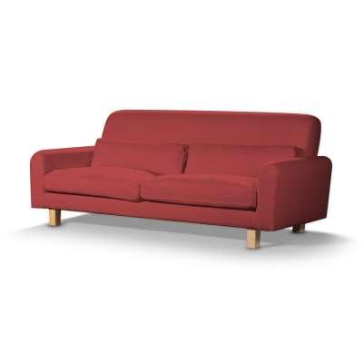 Pokrowiec na sofę Nikkala krótki 161-56 czerwony Kolekcja Living