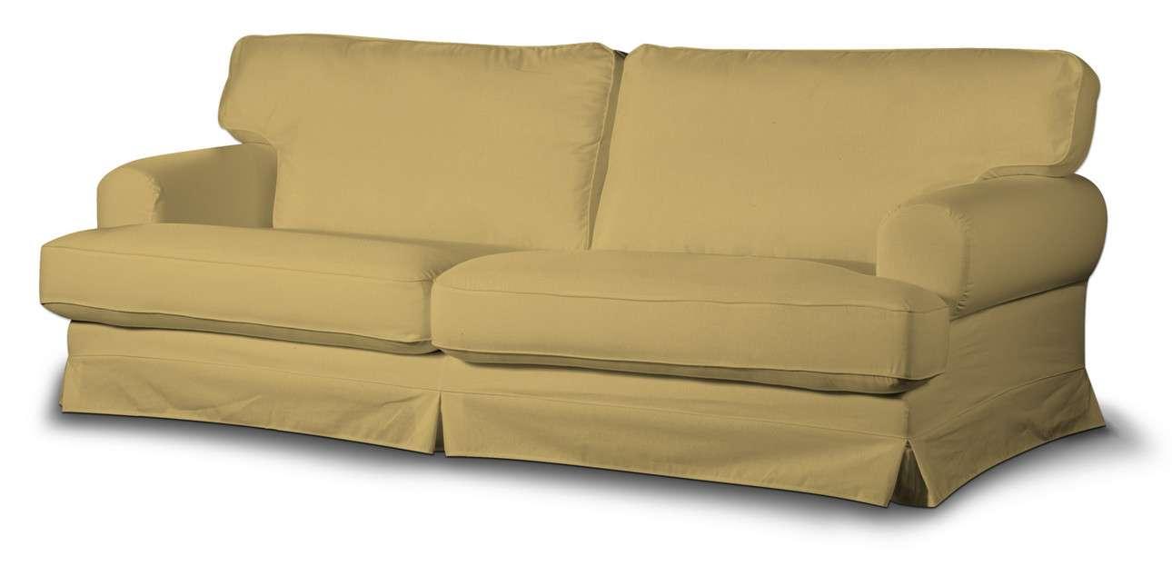 Pokrowiec na sofę Ekeskog rozkładaną w kolekcji Cotton Panama, tkanina: 702-41