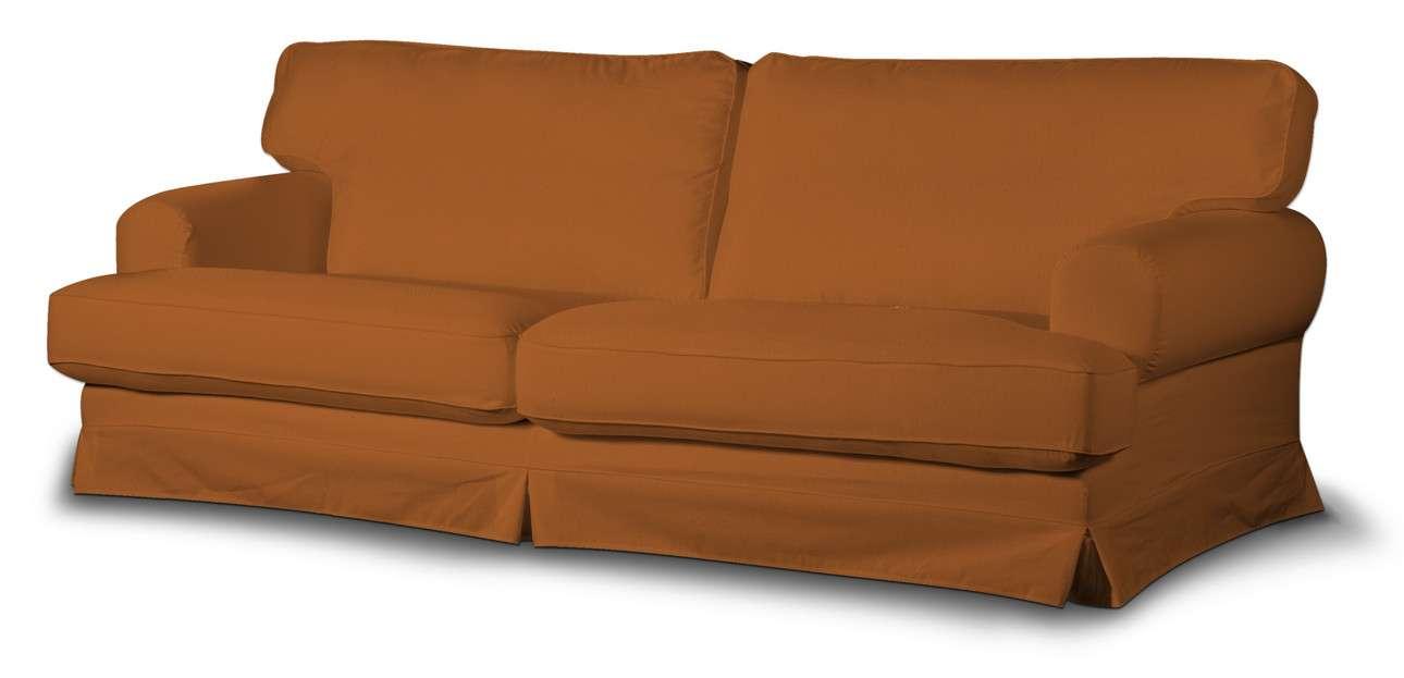 Pokrowiec na sofę Ekeskog rozkładaną w kolekcji Cotton Panama, tkanina: 702-42