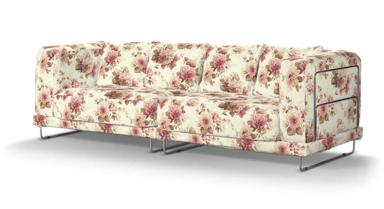 Pokrowiec na sofę  Tylösand 3-osobową nierozkładaną w kolekcji Londres, tkanina: 141-06
