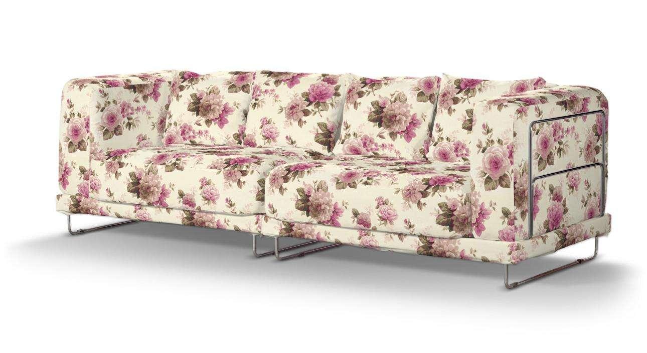 Pokrowiec na sofę  Tylösand 3-osobową nierozkładaną w kolekcji Londres, tkanina: 141-07