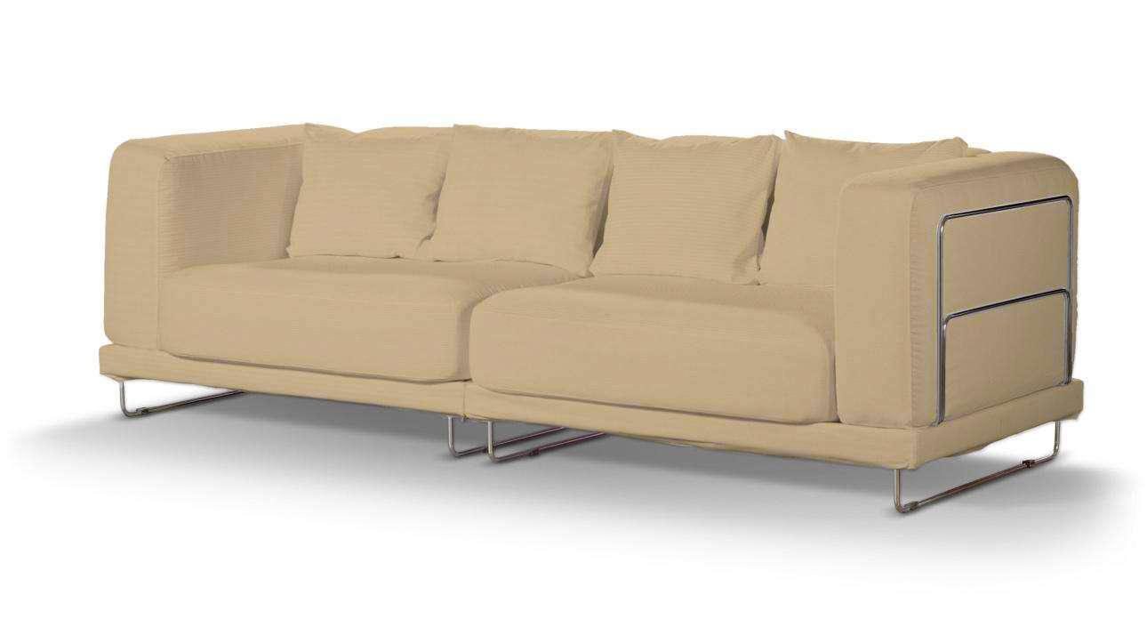 Pokrowiec na sofę  Tylösand 3-osobową nierozkładaną sofa tylösand 3-osobowa nierozkładana w kolekcji Cotton Panama, tkanina: 702-01