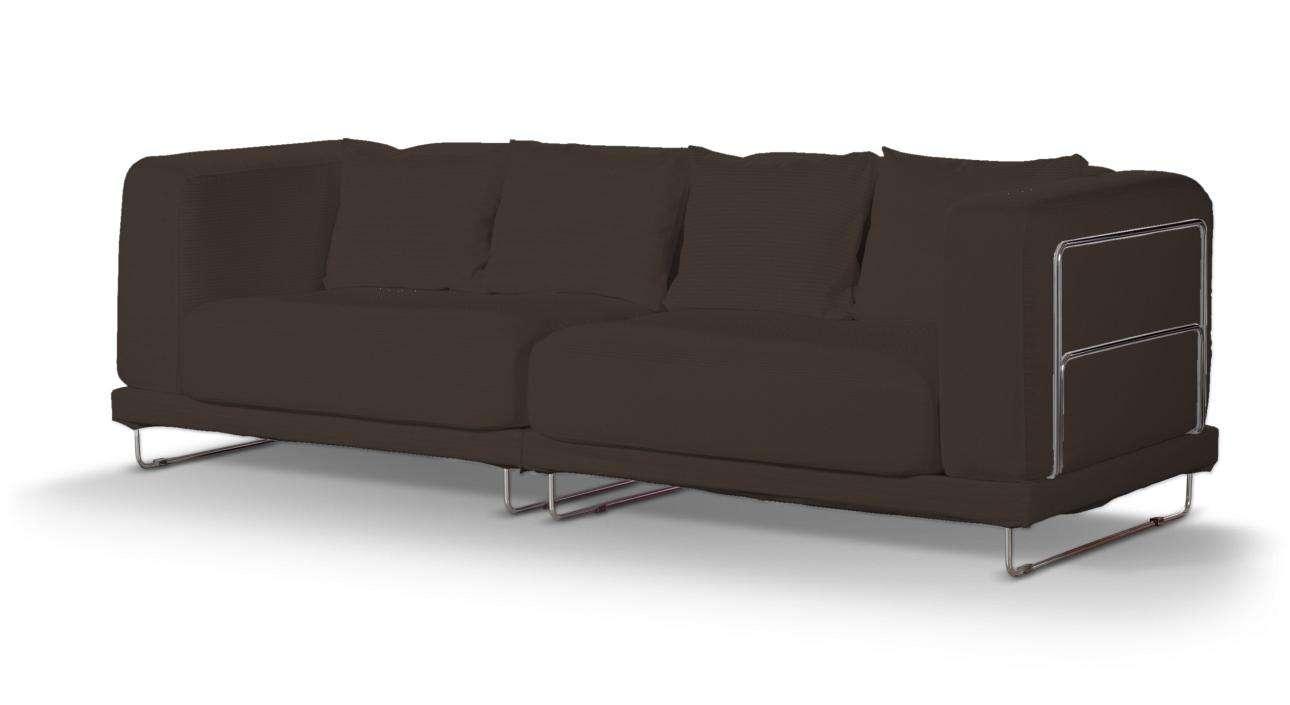 Pokrowiec na sofę  Tylösand 3-osobową nierozkładaną sofa tylösand 3-osobowa nierozkładana w kolekcji Cotton Panama, tkanina: 702-03