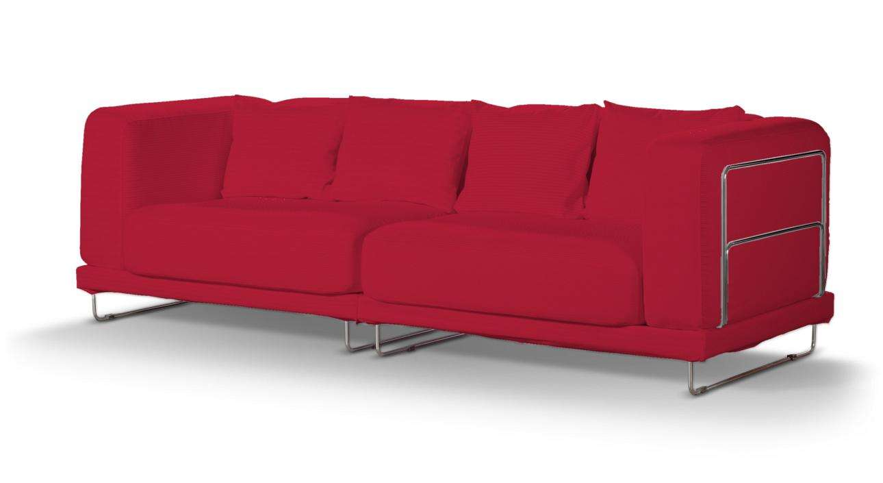 Pokrowiec na sofę  Tylösand 3-osobową nierozkładaną sofa tylösand 3-osobowa nierozkładana w kolekcji Cotton Panama, tkanina: 702-04