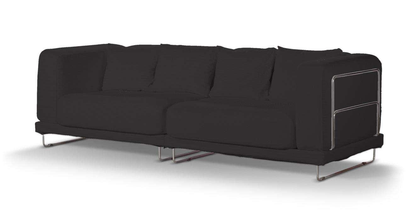 Pokrowiec na sofę  Tylösand 3-osobową nierozkładaną sofa tylösand 3-osobowa nierozkładana w kolekcji Cotton Panama, tkanina: 702-08