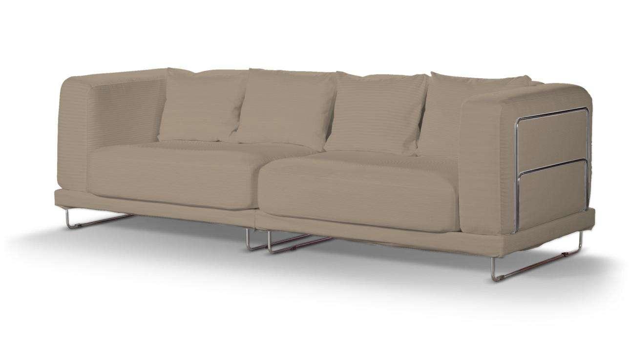 Pokrowiec na sofę  Tylösand 3-osobową nierozkładaną w kolekcji Cotton Panama, tkanina: 702-28