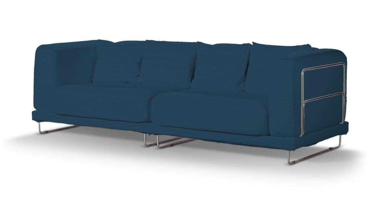 Pokrowiec na sofę  Tylösand 3-osobową nierozkładaną sofa tylösand 3-osobowa nierozkładana w kolekcji Cotton Panama, tkanina: 702-30