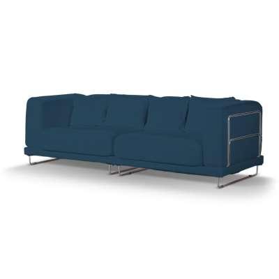 Pokrowiec na sofę  Tylösand 3-osobową nierozkładaną w kolekcji Cotton Panama, tkanina: 702-30