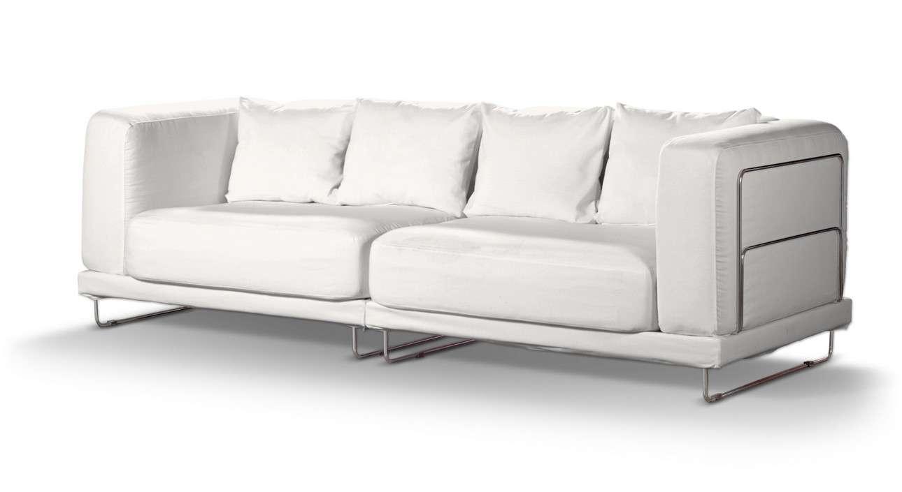 Pokrowiec na sofę  Tylösand 3-osobową nierozkładaną sofa tylösand 3-osobowa nierozkładana w kolekcji Cotton Panama, tkanina: 702-34