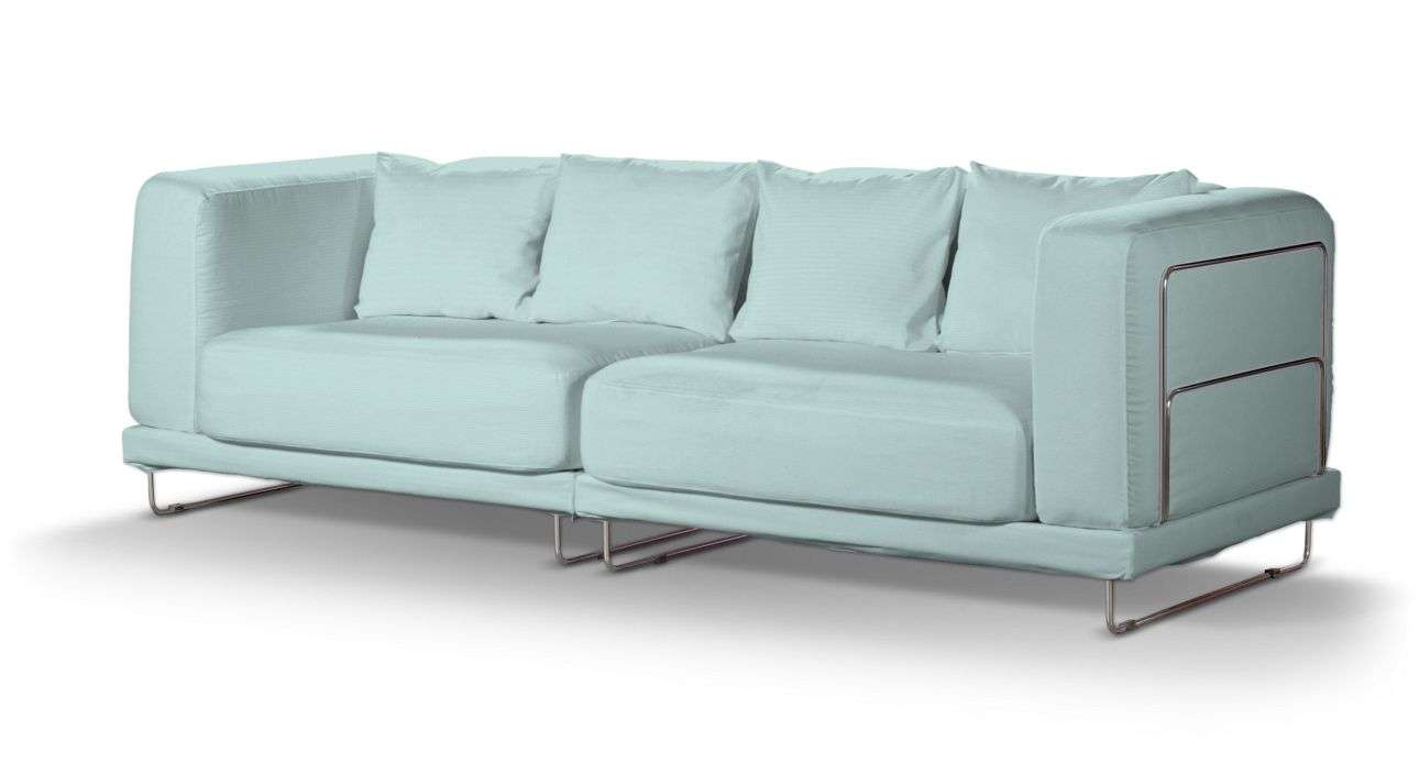 Pokrowiec na sofę  Tylösand 3-osobową nierozkładaną sofa tylösand 3-osobowa nierozkładana w kolekcji Cotton Panama, tkanina: 702-10