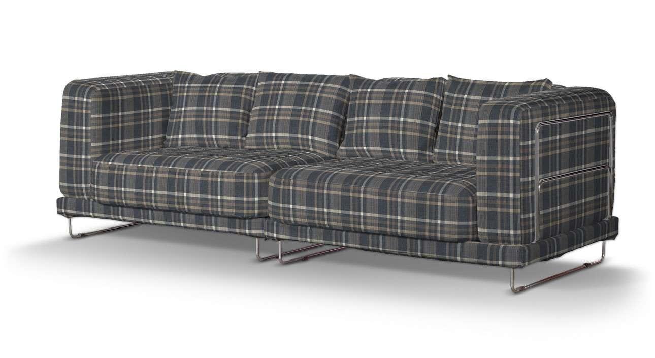 Pokrowiec na sofę  Tylösand 3-osobową nierozkładaną w kolekcji Edinburgh, tkanina: 703-16