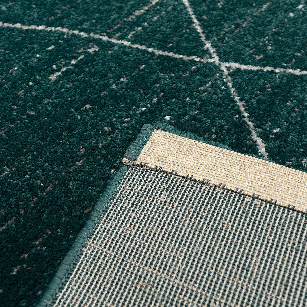 Dywan Sevilla forest green/aspen silver 160x230cm