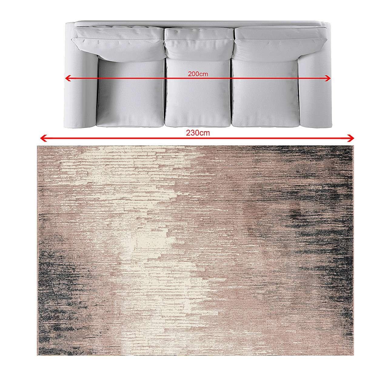 Dywan Sevilla dusty rose/paper white 160x230cm