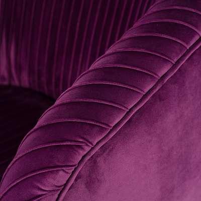 Fauteuil Vicky Velvet purple Fauteuils - Dekoria.nl