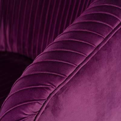 Sessel Vicky Velvet purple Sessel - Dekoria.de